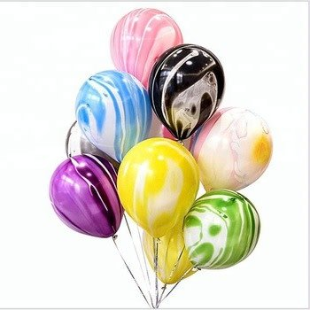 ABC 5 marble balloons yellow