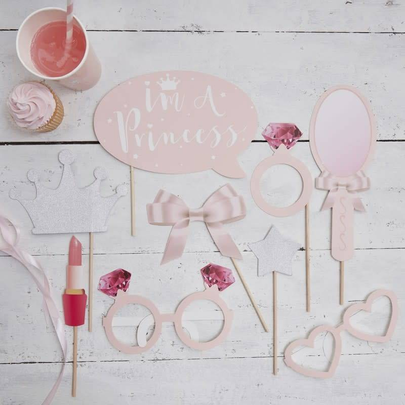 GINGERRAY PHOTO BOOTH PROPS - PRINCESS PARTY
