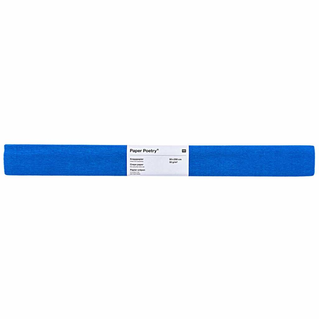 RICO CREPE PAPER, BLUE