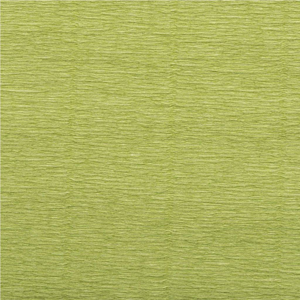 RICO FLORIST CREPE 25X250,REED GREEN