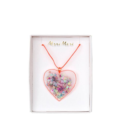 MERIMERI Heart shaker necklace