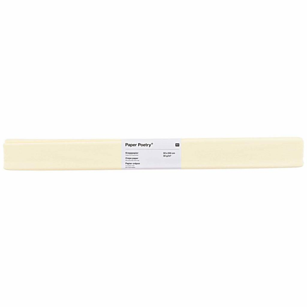RICO CREPE PAPER, IVORY
