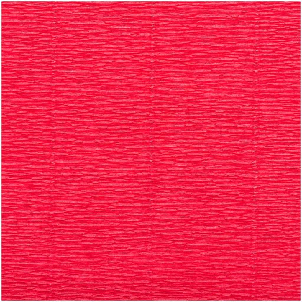 RICO FLORIST CREPE 25X250CM, RED