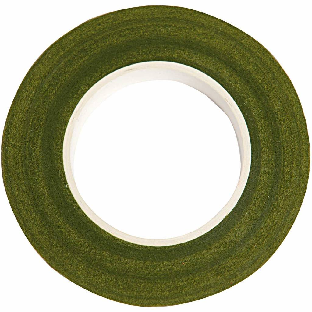 RICO FLORAL CREPE TAPE, GREEN