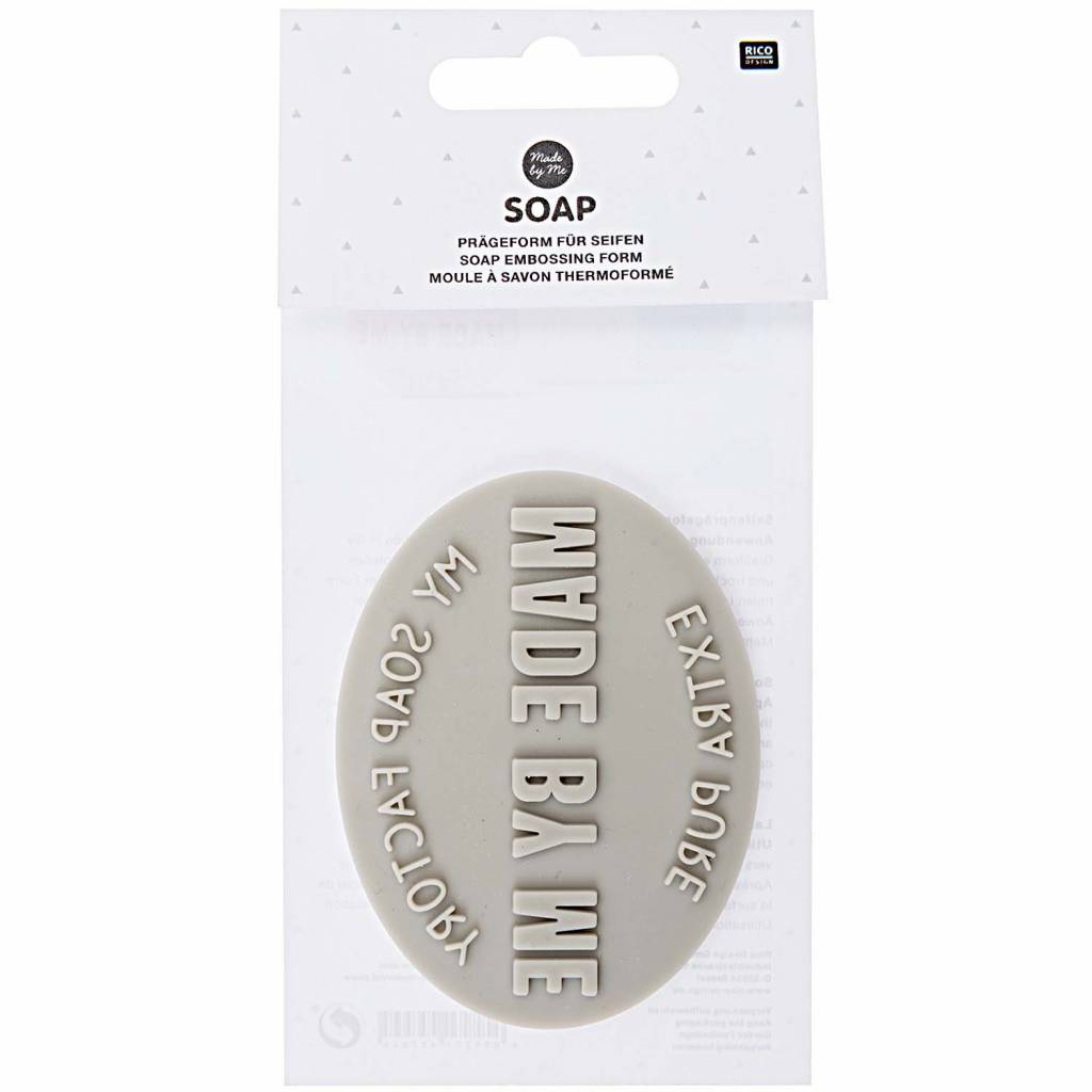 RICO SOAP EMBOSSING FORM OVAL