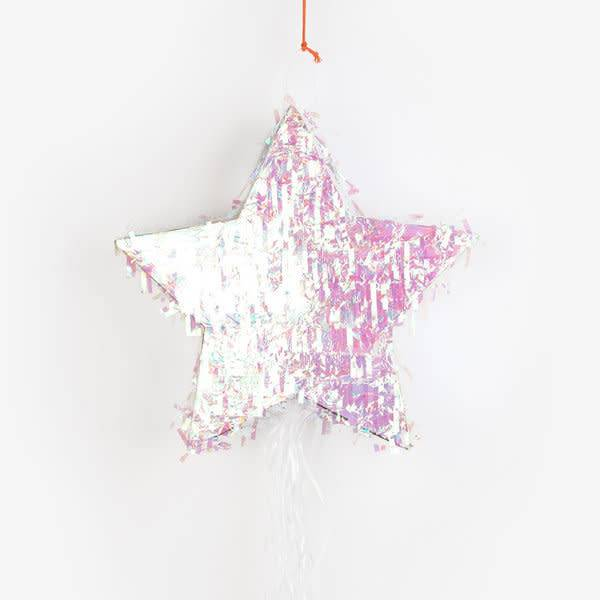 TP iridescent star piñata