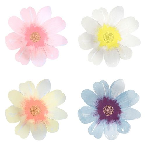 MERIMERI Flower garden plates L