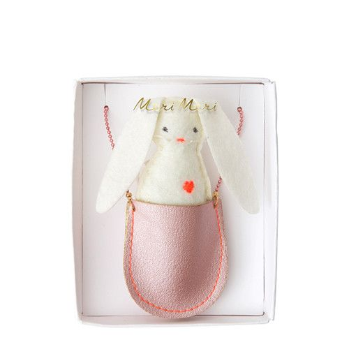 MERIMERI Bunny pocket necklace