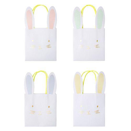 MERIMERI Pastel bunny party bags