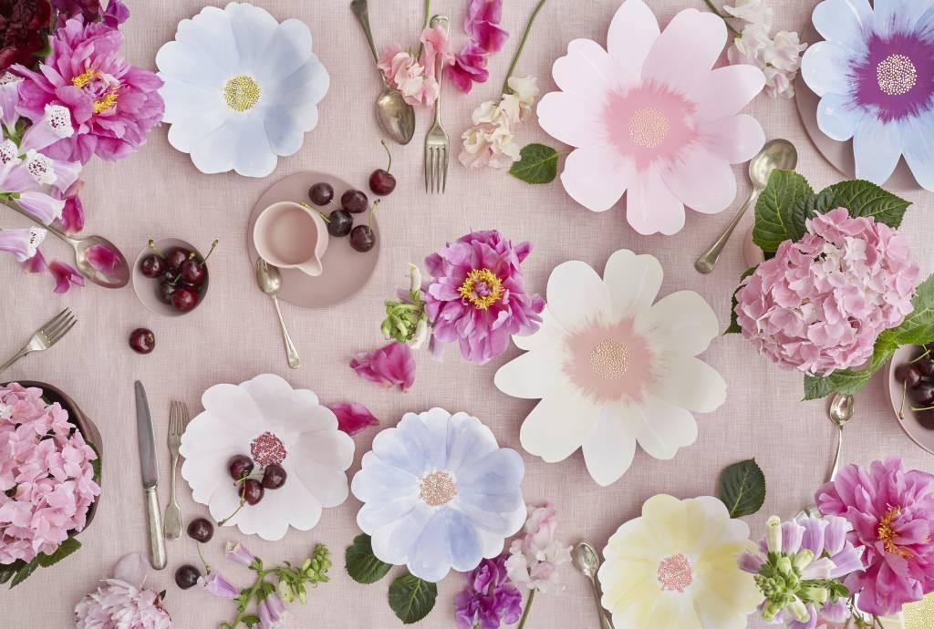 MERIMERI Flower garden napkins