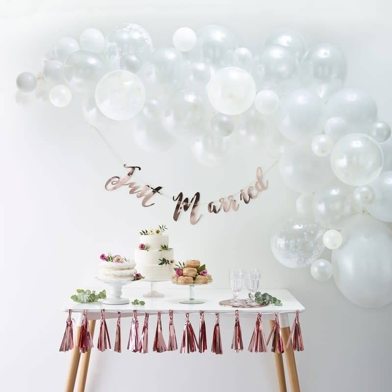 GINGERRAY Balloon Arch kit - White - Balloon Arches