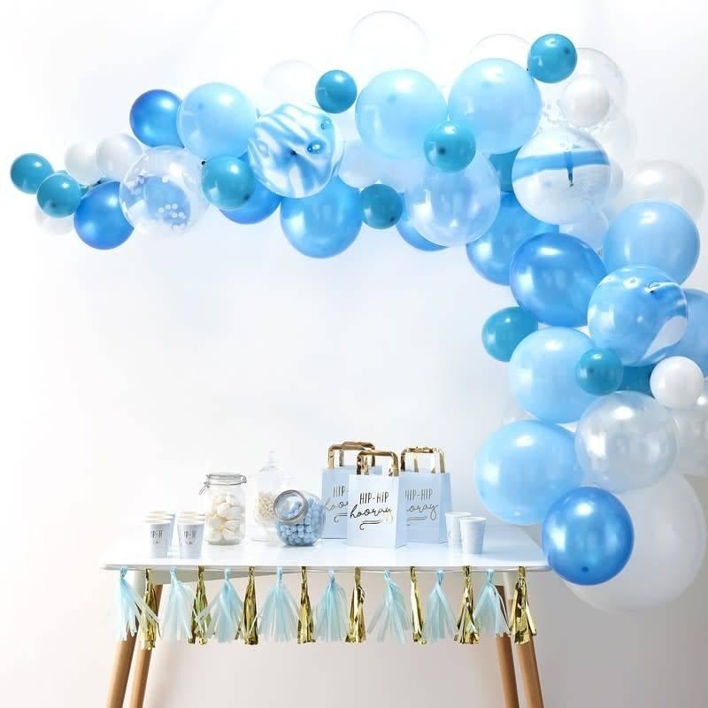 GINGERRAY Balloon Arch Kit - Blue