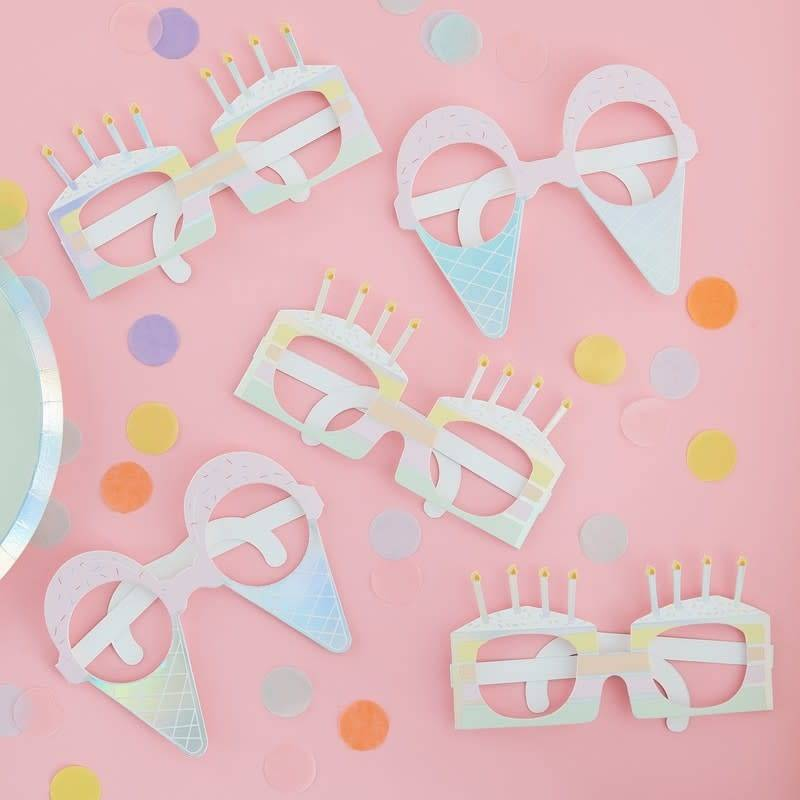 GINGERRAY Fun glasses - Pastel Party