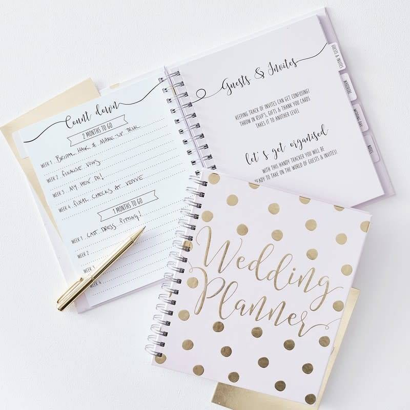 GINGERRAY Luxury Foiled Wedding Planner