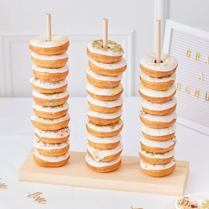 GINGERRAY Donut Stacker- Gold Wedding
