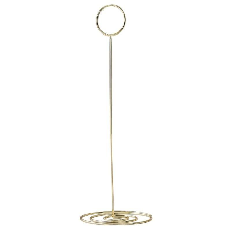 GINGERRAY Gold Metal Table Number Holder- Gold Wedding