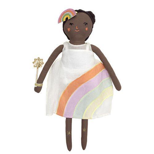 MERIMERI Mia rainbow doll
