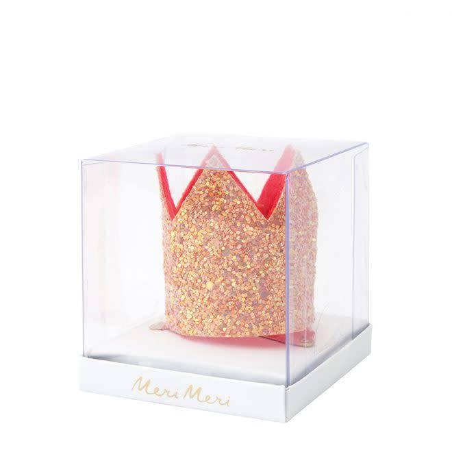 MERIMERI Pink glitter hair clip