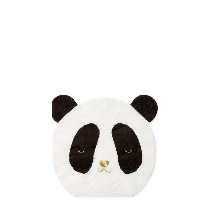 MERIMERI Panda napkins
