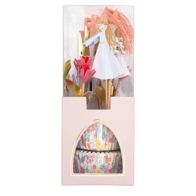 MERIMERI Magical princess cupcake kit