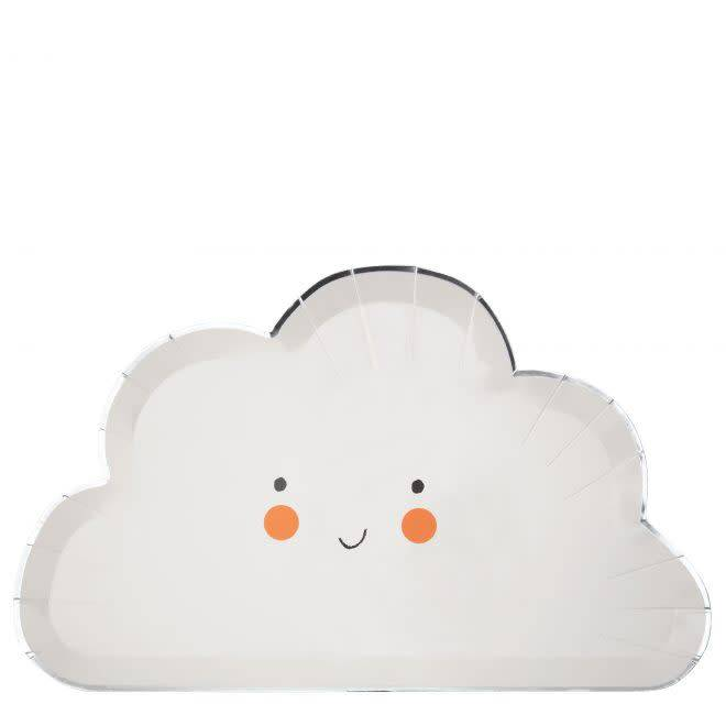 MERIMERI Happy cloud plates