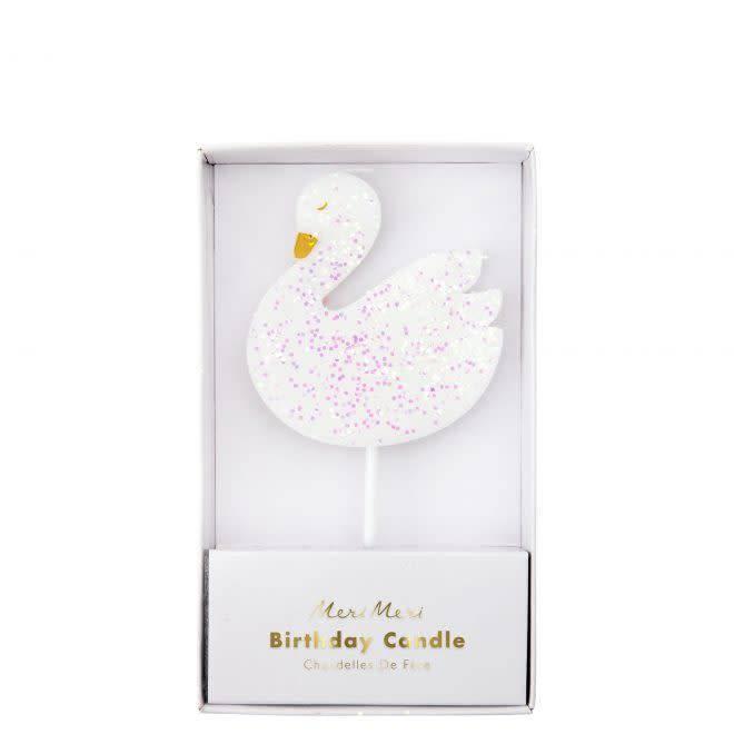 MERIMERI Swan candle