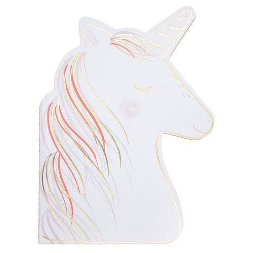 MERIMERI Unicorn sticker sketch book