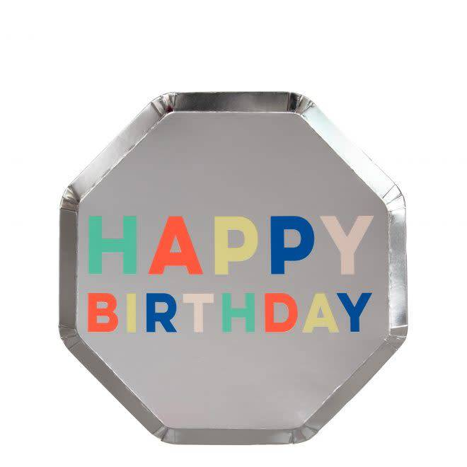 MERIMERI Birthday palette plates S