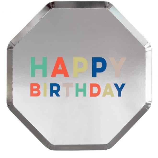 MERIMERI Birthday palette plates L
