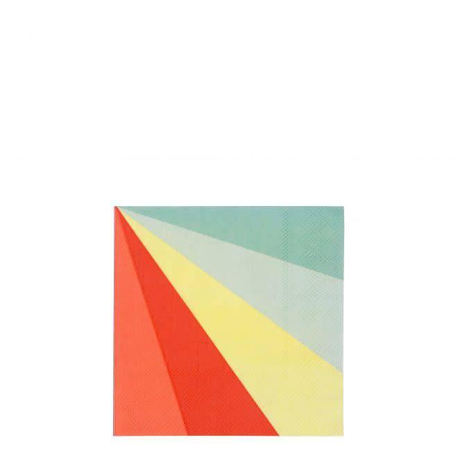 MERIMERI Color wheel napkins S