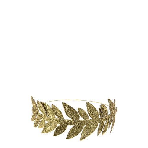 MERIMERI Gold leaf crowns