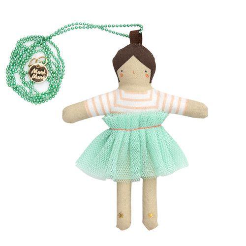 MERIMERI Lila doll necklace