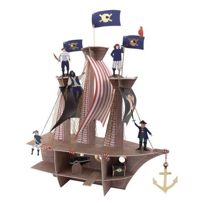 MERIMERI Pirates bounty centerpiece