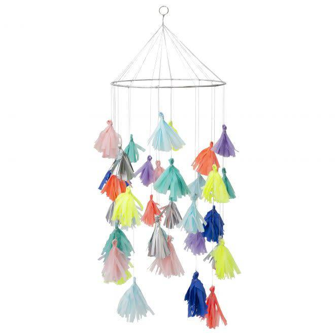 MERIMERI Bright tassel chandelier