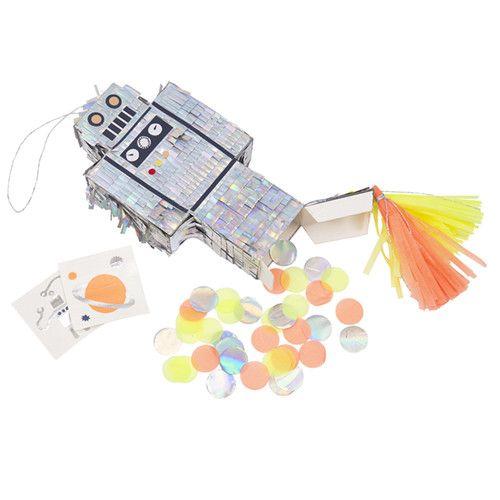 MERIMERI Robot piñata favor