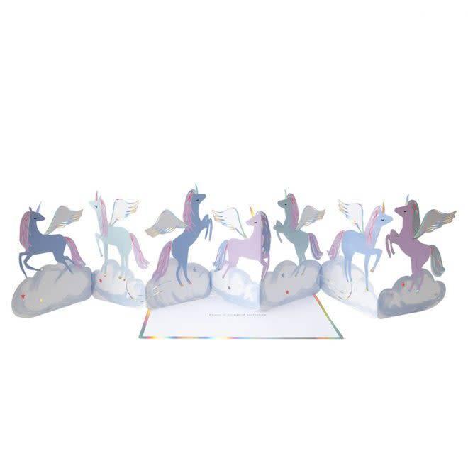 MERIMERI Pegasus concertina card