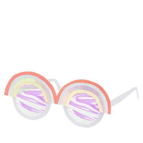 MERIMERI Rainbow glasses card