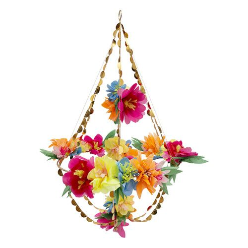 MERIMERI Bright blossom chandelier