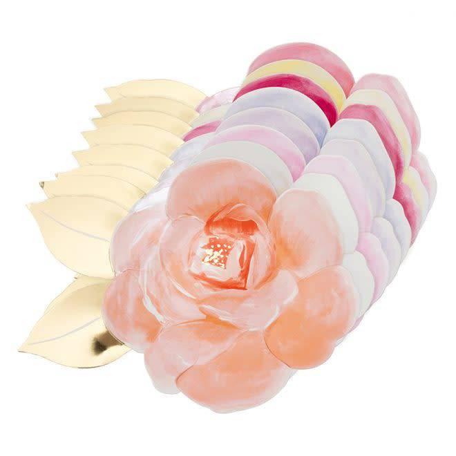 MERIMERI Rose garden plates