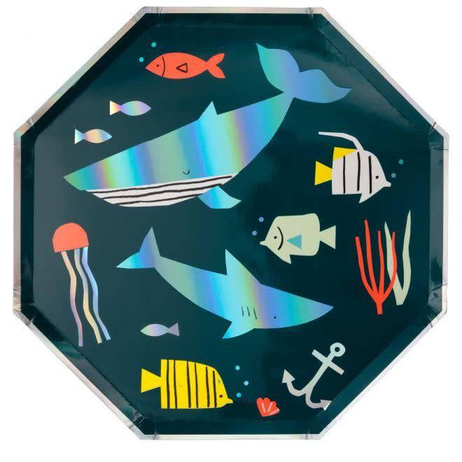 MERIMERI Under the sea plates L