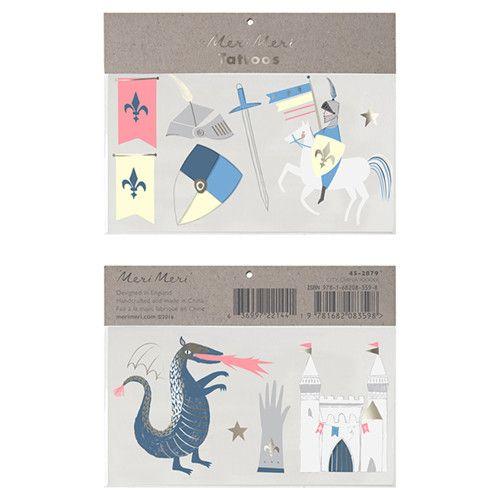 MERIMERI Dragon & knights tattoos