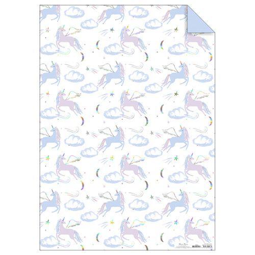 MERIMERI Pegasus gift wrap roll