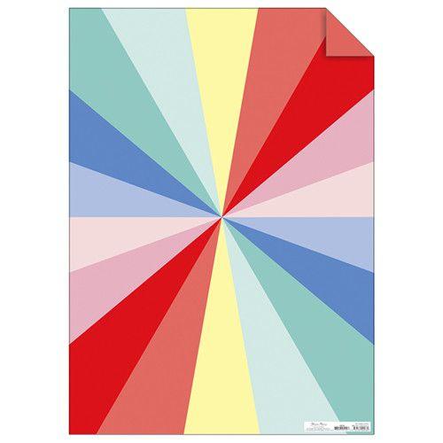 MERIMERI Color wheel gift wrap roll