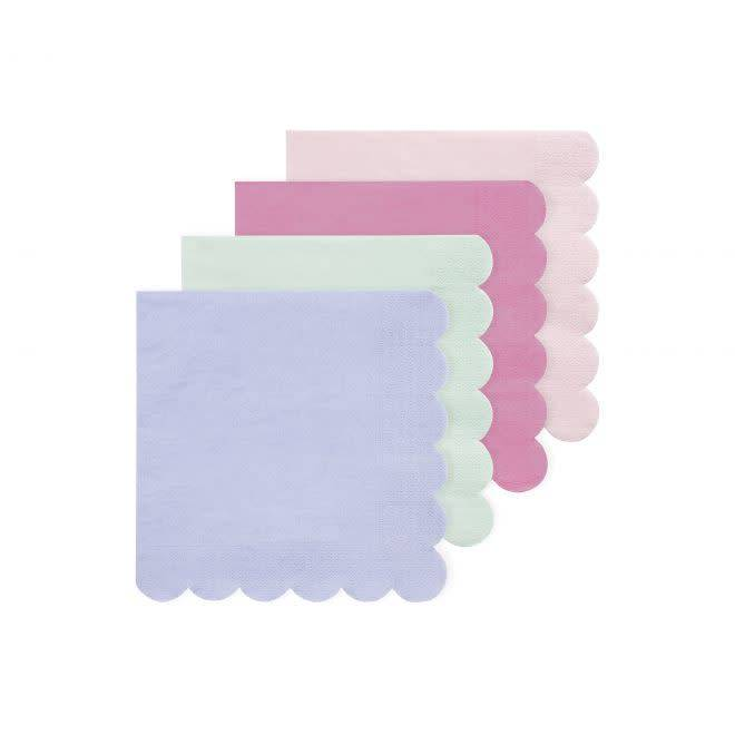MERIMERI Mixed simply eco napkins S