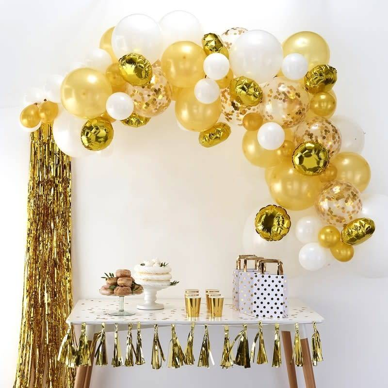 GINGERRAY Balloon Arch Kit - Gold - Balloon Arches