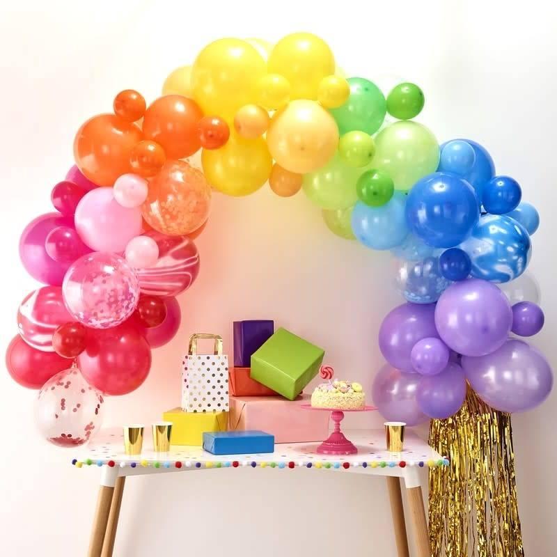 GINGERRAY Balloon Arch Kit - Rainbow - Balloon Arches