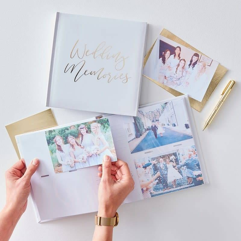 GINGERRAY Wedding Photo Album- Gold Wedding