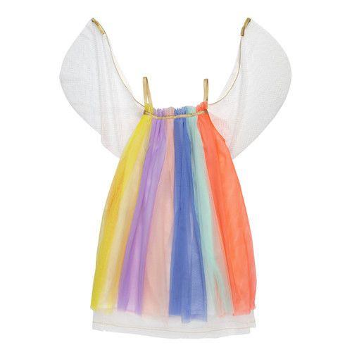 MERIMERI Rainbow girl dress-up 3-4