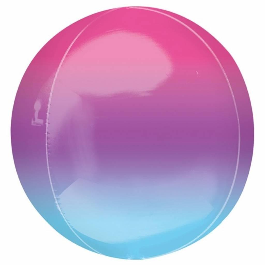 HH orb ombre purple & blue 40 cm