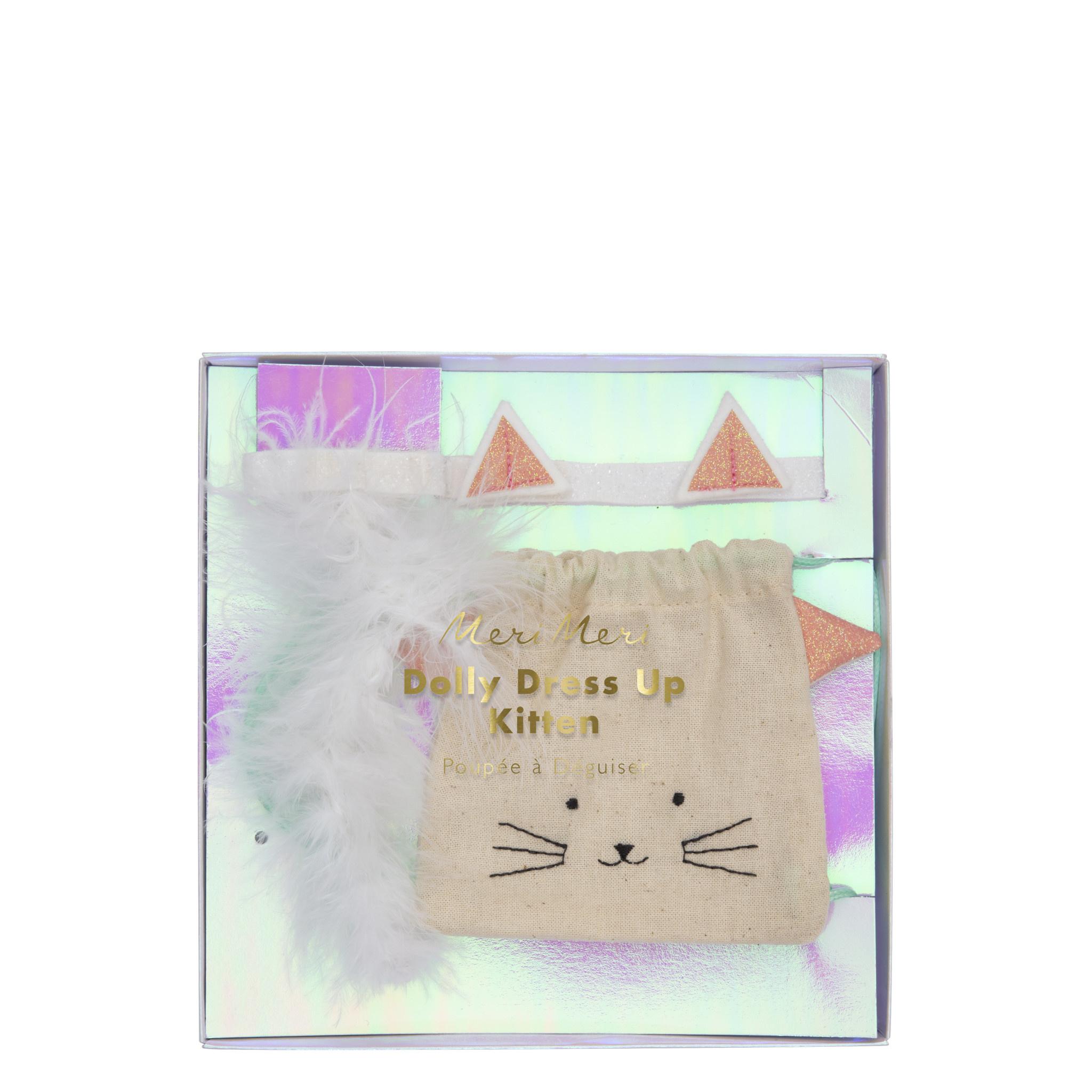 MERIMERI Cat backpack doll dress-up